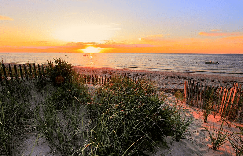 photo of a Cape Cod sunset, Massachusetts