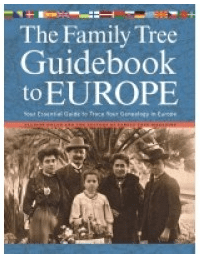 "photo of the genealogy book ""The Family Tree Guidebook to Europe"""