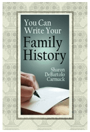 "photo of the genealogy book ""You Can Write Your Family History"""