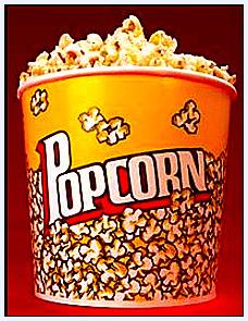 photo of a bucket of popcorn