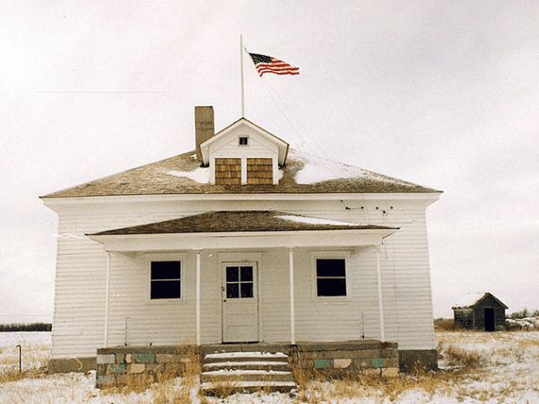 Photo: house at the Nicodemus National Historic Site, Kansas. Credit: National Park Service.