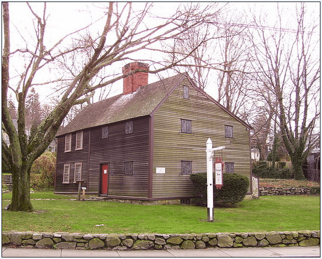 photo of the Jabez Howland House in Plymouth, Massachusetts