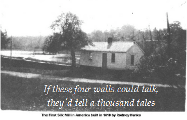 "photo of an old house with the caption ""If These Four Walls Could Talk, They'd Tell a Thousand Tales"""