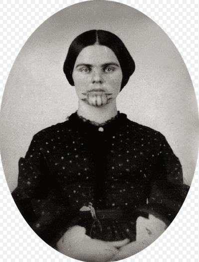 photo of Olive Oatman, 1857