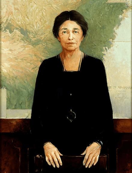 portrait of U.S. Senator Hattie Caraway of Arkansas, by John Oliver Buckley