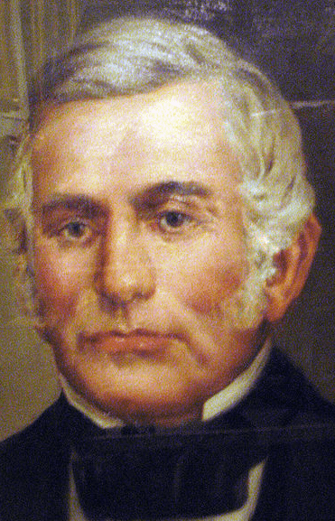 a portrait of Lilburn Boggs, governor of Missouri (1836-1840)