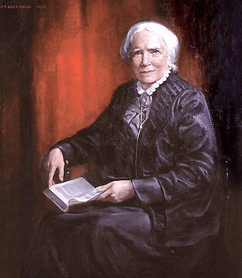 portrait of Elizabeth Blackwell, by Joseph Stanley Kozlowski, 1905