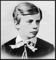 photo of Theodore Roosevelt, age 11, 1870