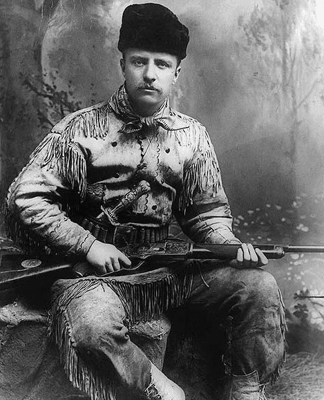 photo of Theodore Roosevelt, 1885