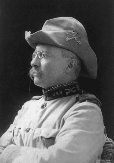 photo of Colonel Theodore Roosevelt, 1898