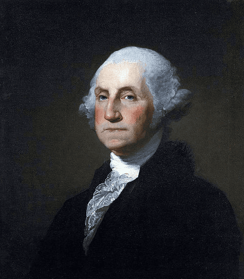 portrait of George Washington by Gilbert Stuart, 1797