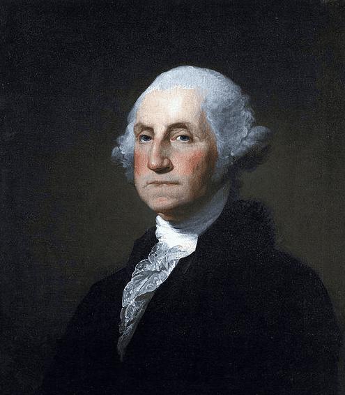 portrait of George Washington by Gilbert Stuart, 1797