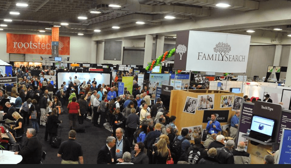 photo of the RootsTech genealogy conference