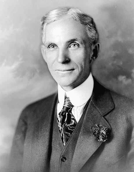 Portrait of Henry Ford, c. 1919