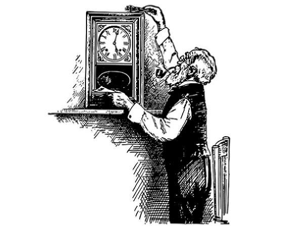 Illustration: an old man