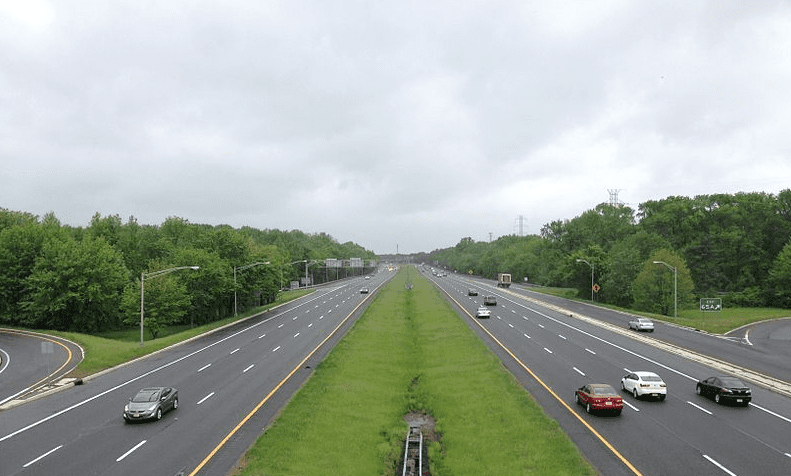 photo of Interstate Highway 295 in New Jersey
