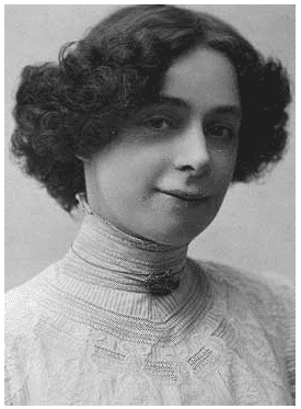 photo of Bess Houdini, c. 1900-1910