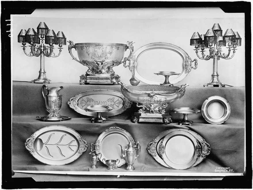 photo of silverware