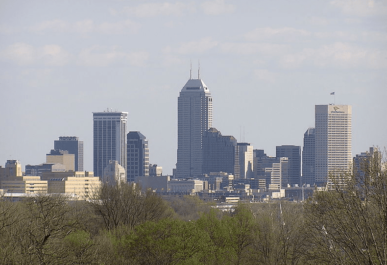 photo of Indianapolis, the capital of Indiana
