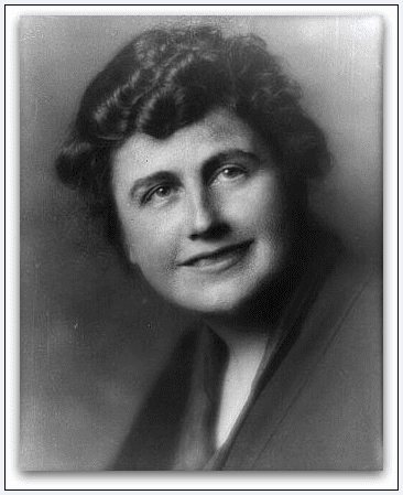 photo of First Lady Edith Wilson