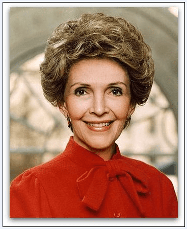 photo of First Lady Nancy Reagan