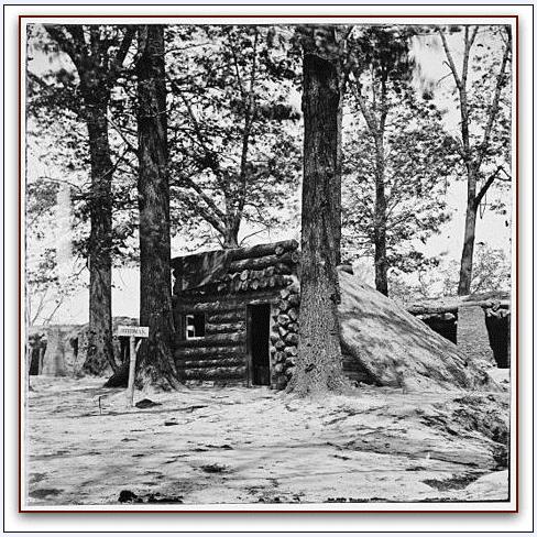 photo of the Union Fort Stedman, taken 31 December 1865