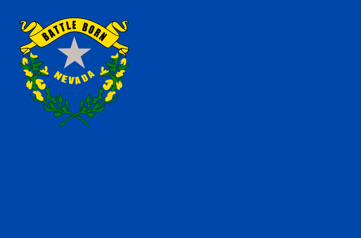 illustration of the state flag of Nevada