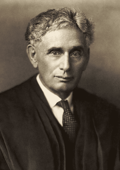 photo of Louis Brandeis, c. 1916