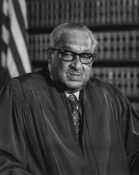 photo of U.S. Supreme Court Justice Thurgood Marshall