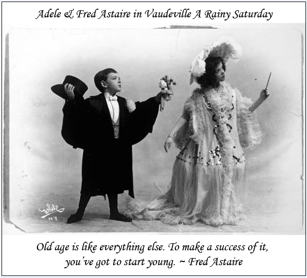 quote about aging from Fred Astaire