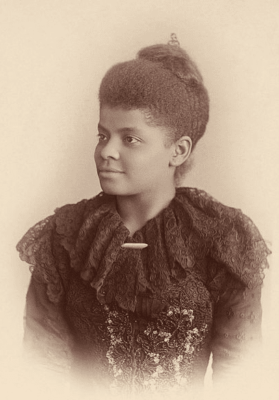 photo of Ida B. Wells, c. 1893