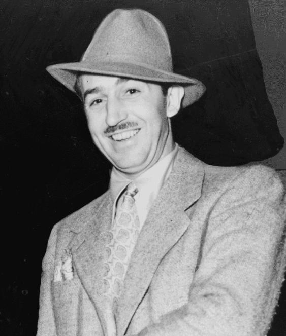 photo of Walt Elias Disney, 1938