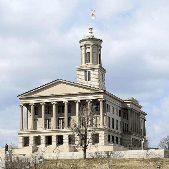 photo of the Tennessee State Capitol in Nashville