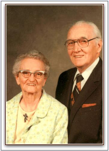photo of George and Ellen (Nielsen) Everton