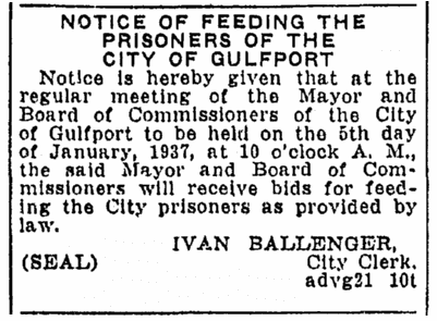 legal notice, Daily Herald newspaper article 31 December 1936