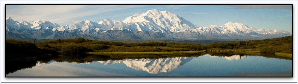 photo of Mt. McKinley (now Denali), Alaska