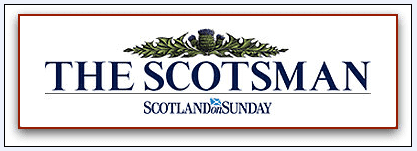 "masthead for the newspaper ""The Scotsman"""