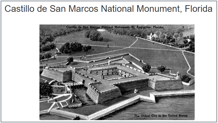 photo of Castillo de San Marcos National Monument, St. Augustine, Florida