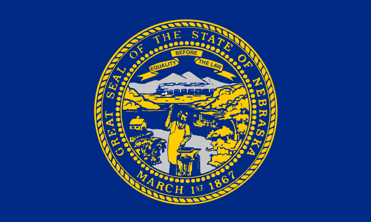 illustration: state flag of Nebraska