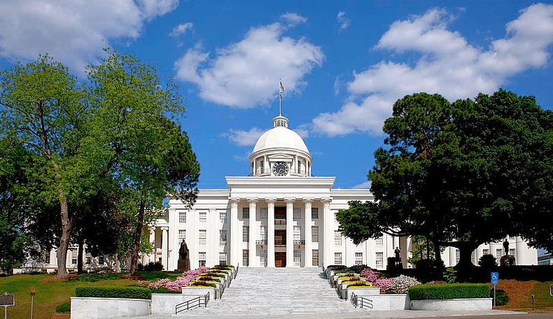 photo of the State Capitol Building, Montgomery, Alabama