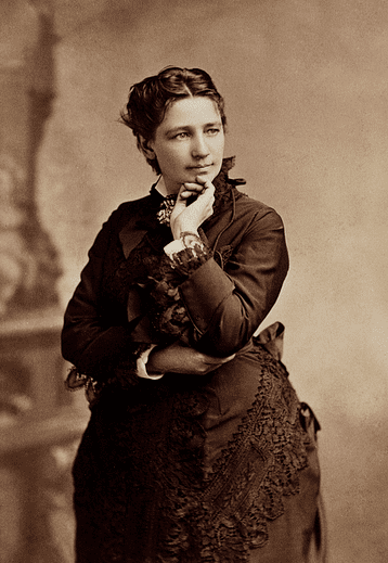 photo of Victoria Woodhull, c. 1860s