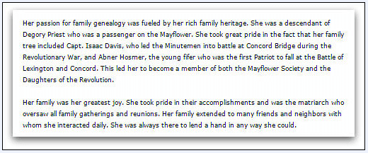 obituary for Patricia Sayward, Amesbury News newspaper article 17 March 2009