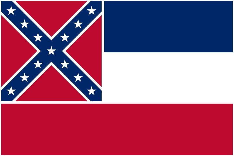illustration: state flag of Mississippi