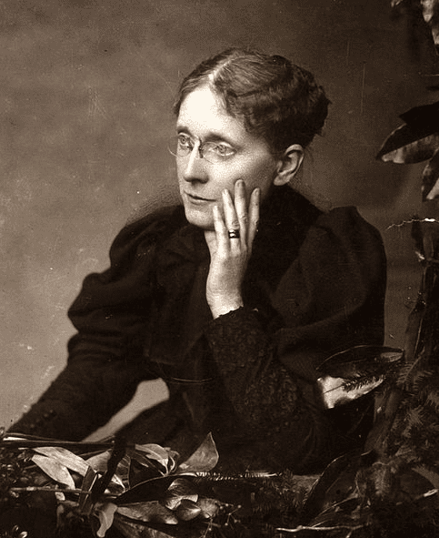 photo of Frances E. Willard, taken sometime before 1898