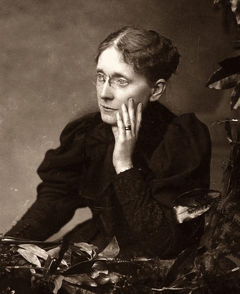photo of Frances E. Willard, taken sometime before 1898