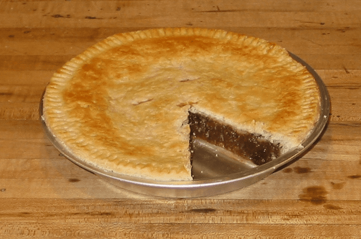 photo of a mincemeat pie
