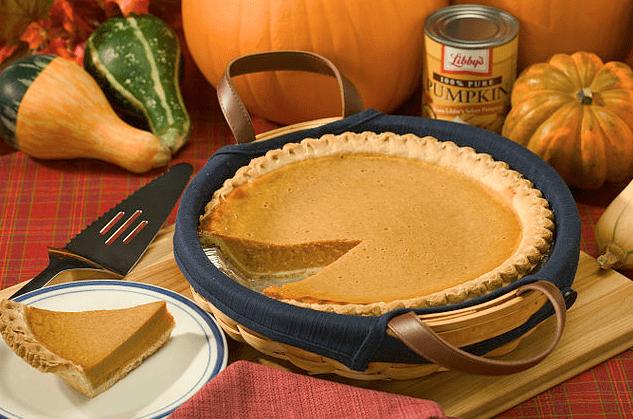 photo of a pumpkin pie