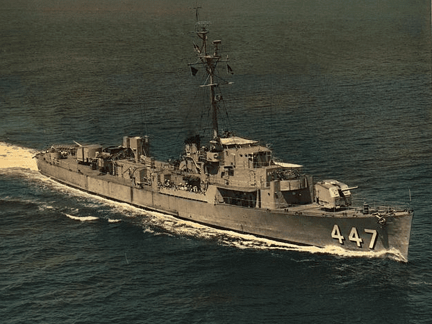 photo of the USS Albert T. Harris (DE-447)