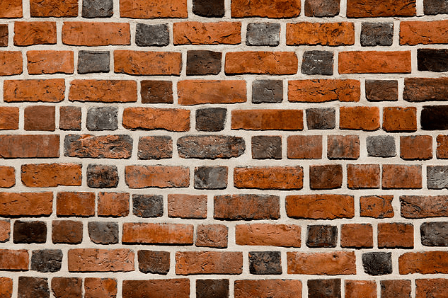 photo of a brick wall