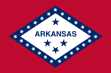 Illustration: Arkansas state flag